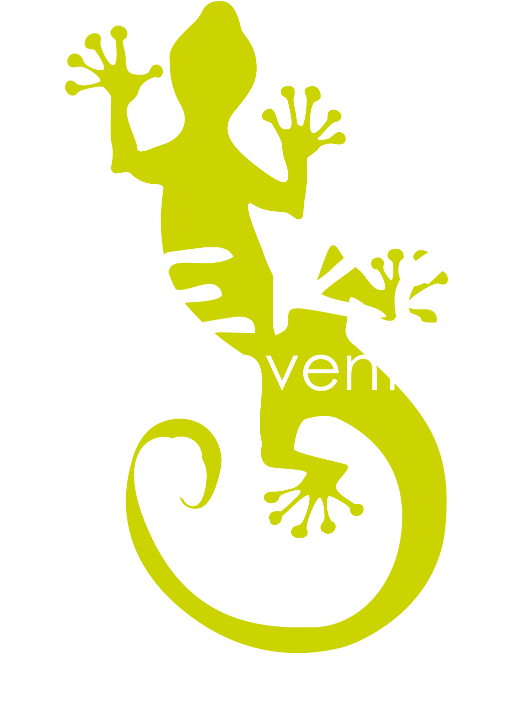 logo GEKO for EVENTS bianco